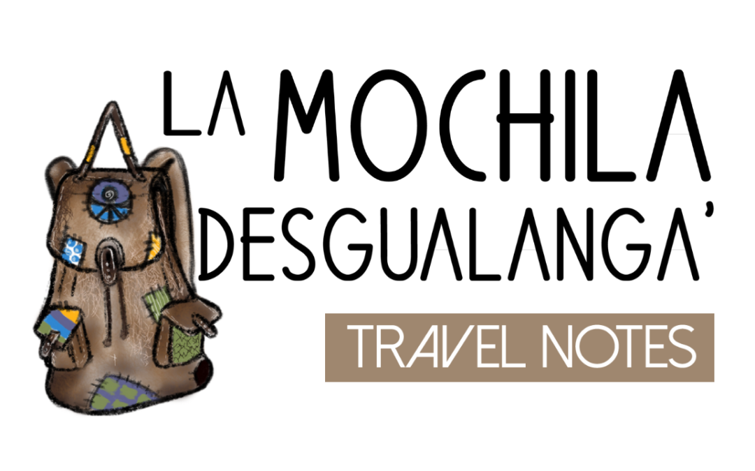 KNOW LA MOCHILA DESGUALANGA'. LIVING IN THE PACIFIC